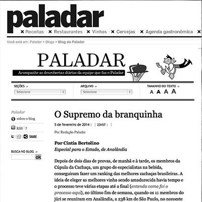 Caderno Paladar 02/2014